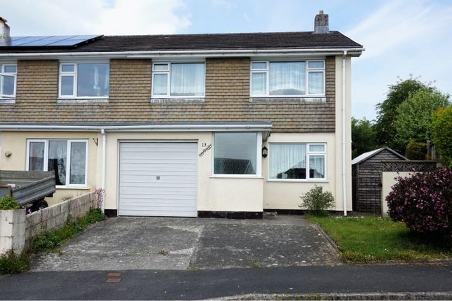 Thumbnail Semi-detached house for sale in West View Road, Yelverton