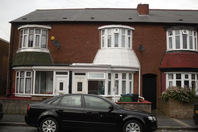 Thumbnail Terraced house for sale in Talbot Road, Smethwick