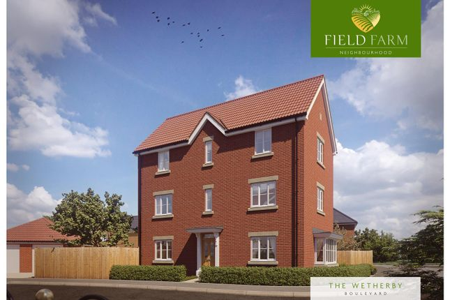 Thumbnail Detached house for sale in Plot 39, The Wetherby, Field Farm, Stapleford