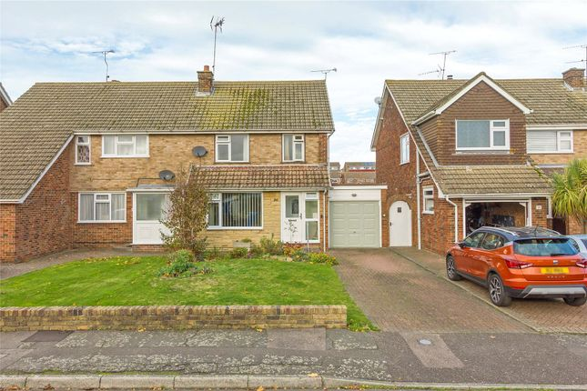 3 bed semi-detached house for sale in Chatsworth Drive, Sittingbourne, Kent ME10