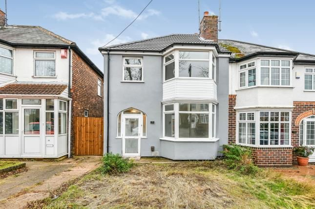 Thumbnail Semi-detached house for sale in Lindridge Road, Erdington, Birmingham, West Midlands