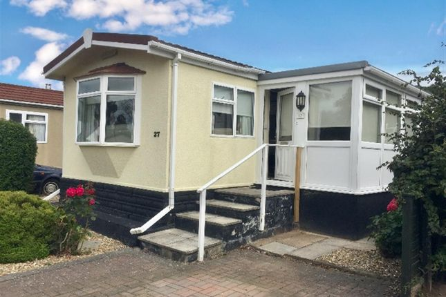 Thumbnail Mobile/park home for sale in Riverside Park, Mayhill, Monmouth