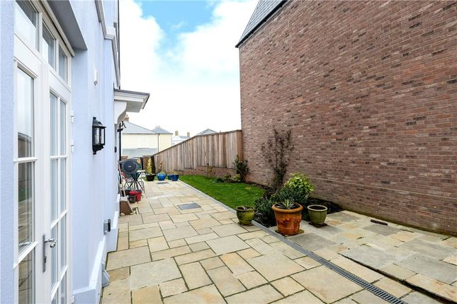 Side Elevation of Crown Street West, Poundbury, Dorset DT1