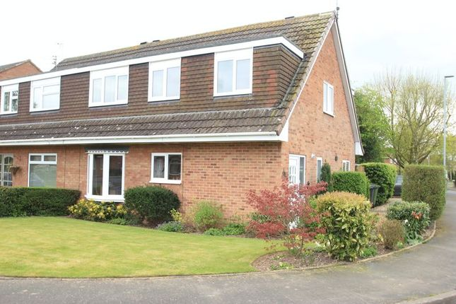 Thumbnail Semi-detached house for sale in Cranbrooks, Wheaton Aston, Stafford