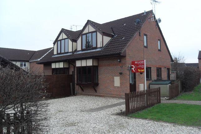 Thumbnail Semi-detached house to rent in Lisle Close, Swindon