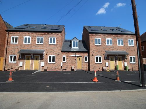 Thumbnail Terraced house to rent in Flat 4, Marshall's Yard, Plymouth Place, Leamington Spa