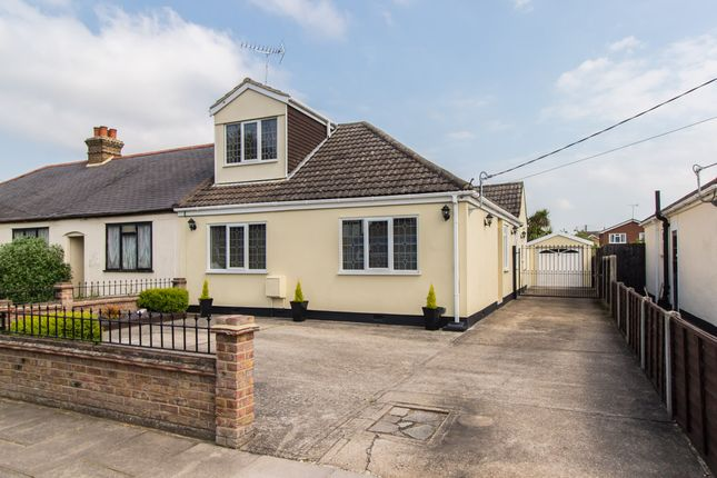 Thumbnail Semi-detached bungalow for sale in Gravel Road, Eastwood, Leigh-On-Sea