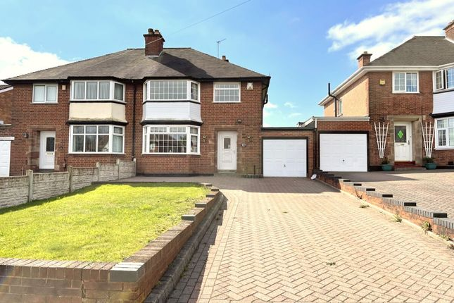 Thumbnail Semi-detached house for sale in Flaxley Road, Stechford, Birmingham