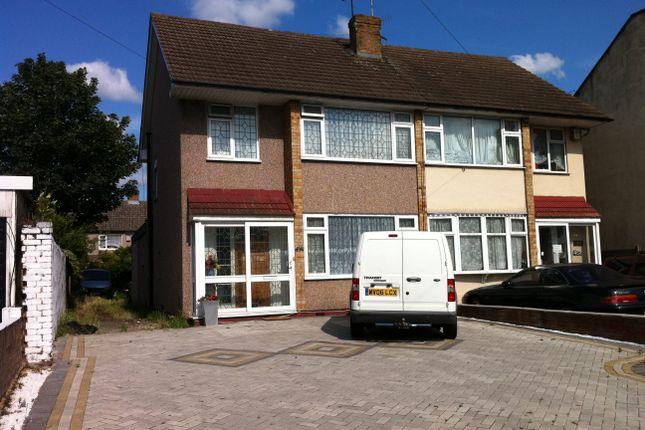 Thumbnail Semi-detached house for sale in Whalebone Lane North, Chadwell Heath