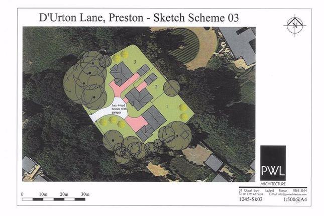Thumbnail Land for sale in D'urton Lane, Broughton, Preston