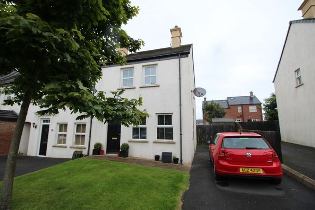 Thumbnail Terraced house to rent in Linen Crescent, Bangor