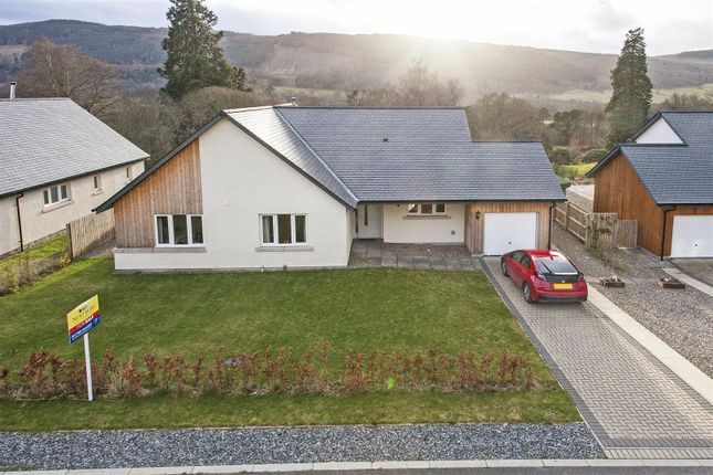 Thumbnail Detached bungalow for sale in 13 School Loan, Croftinloan, Pitlochry