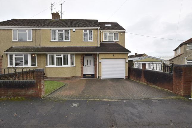 Thumbnail Semi-detached house for sale in Woodstock Road, Kingswood
