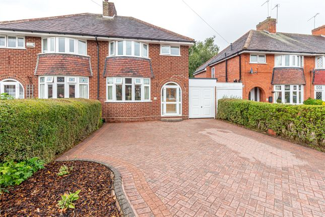 Thumbnail Semi-detached house for sale in Oakfield Drive, Cofton Hackett, Birmingham