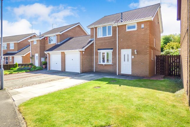 Thumbnail Detached house for sale in Ilford Avenue, Cramlington