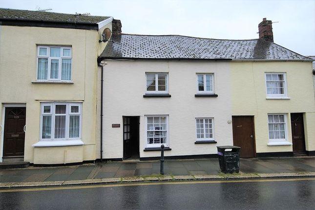 Thumbnail Terraced house to rent in 3 Bedroom Cottage, Pilton Street, Barnstaple