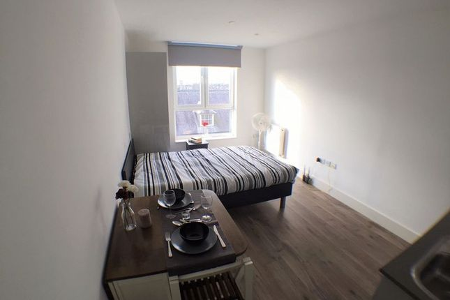 Thumbnail Studio to rent in Luminiaire Apartments, Kilburn High Road