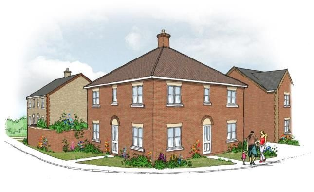 Thumbnail Semi-detached house for sale in Off Richmond Road, Downham Market, Norfolk