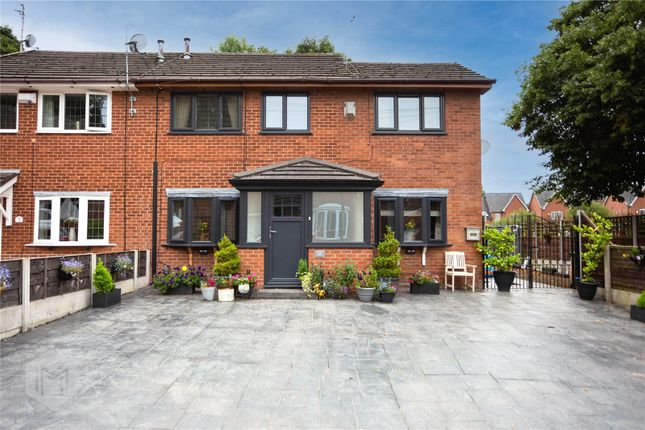 Thumbnail Semi-detached house for sale in Riverside Drive, Radcliffe, Manchester