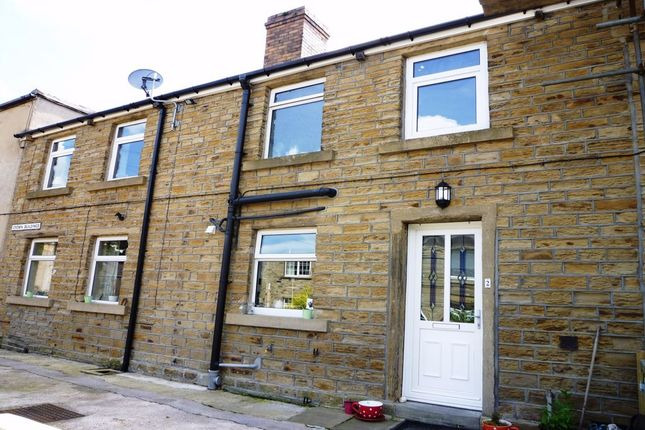 Thumbnail Terraced house to rent in Crown Buildings, Clayton West, Huddersfield, West Yorkshire