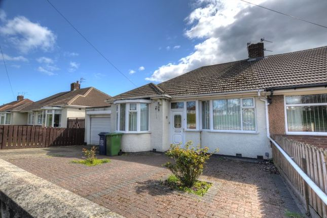 Thumbnail Semi-detached bungalow for sale in St. Albans Crescent, North Heaton, Newcastle Upon Tyne