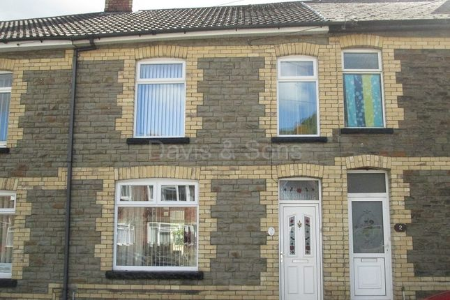 Thumbnail Terraced house for sale in Edward Street, Cwmcarn, Newport.