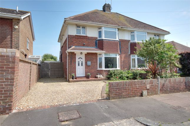 Thumbnail Semi-detached house for sale in Seafield Avenue, Goring By Sea, Worthing, West Sussex