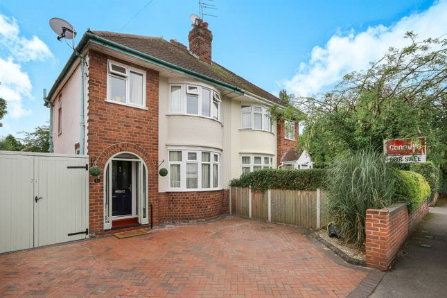 Thumbnail Semi-detached house for sale in Probert Road, Oxley, Wolverhampton