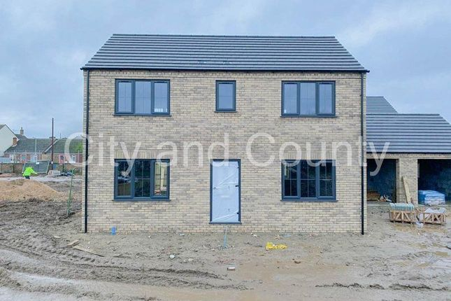 Thumbnail Detached house for sale in Hardwick Close, Peterborough
