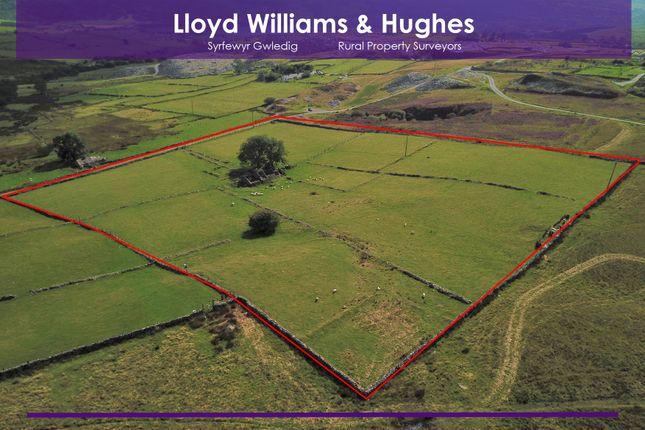 Thumbnail Land for sale in Y Fron, Caernarfon