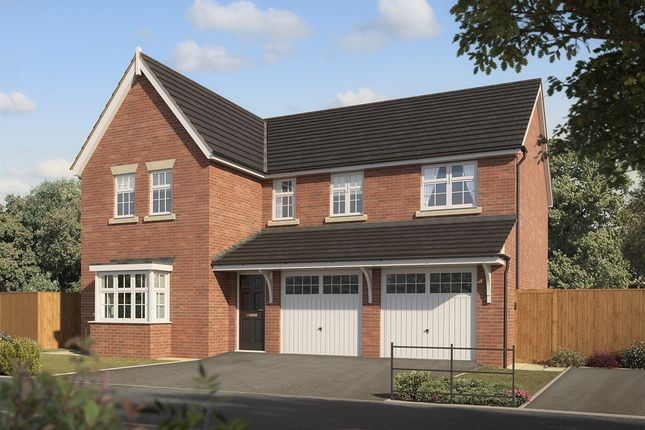 "Thumbnail Detached house for sale in ""The Fenchurch"" at Chaffinch Manor, Broughton, Preston"