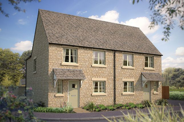 """Thumbnail Semi-detached house for sale in """"The Salisbury"""" at Cinder Lane, Fairford"""