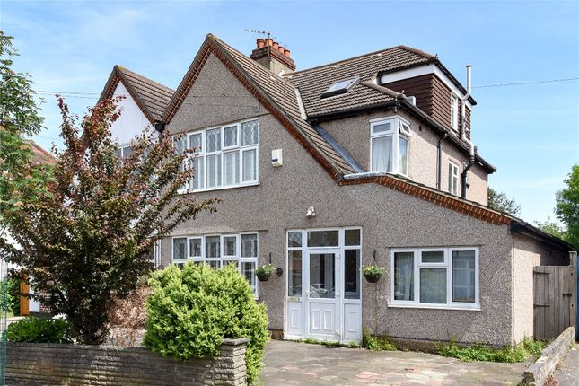 Thumbnail Semi-detached house for sale in Braemar Gardens, West Wickham