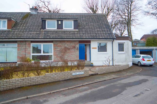 Thumbnail Semi-detached house for sale in Lime Grove, Larbert