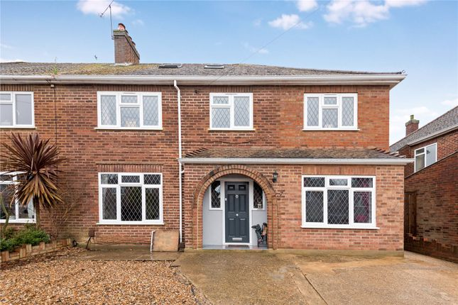 Thumbnail Semi-detached house for sale in Leigh Close, Rowtown, Surrey