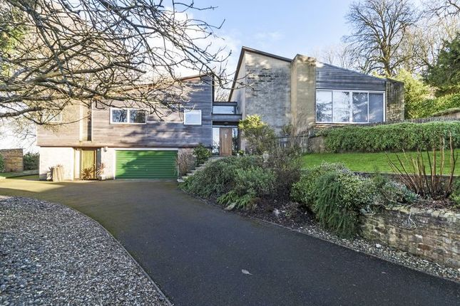 Thumbnail Detached house for sale in Entry Hill Drive, Bath