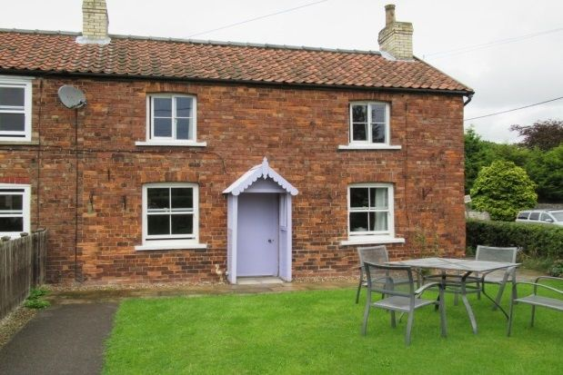 Thumbnail Cottage to rent in Brawby, Malton