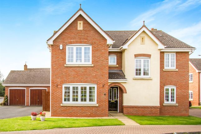 Thumbnail Detached house for sale in Riddings Hill, Balsall Common, Coventry