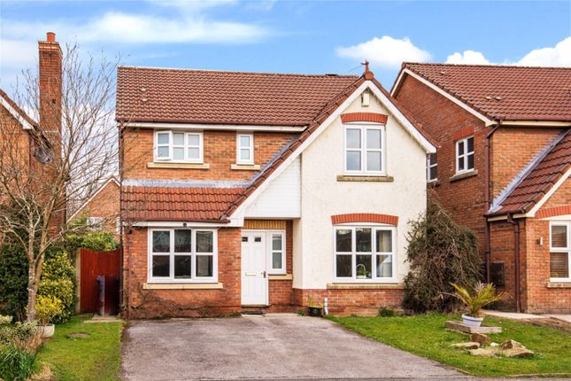 Thumbnail Detached house for sale in Ellerbeck Crescent, Worsley, Manchester
