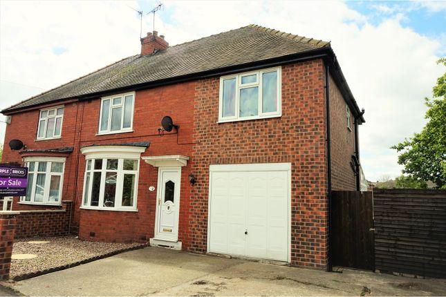 Thumbnail Semi-detached house for sale in Landa Grove, Tuxford