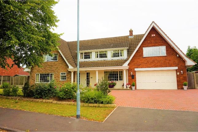 Thumbnail Detached house for sale in Parkland Close, Mansfield