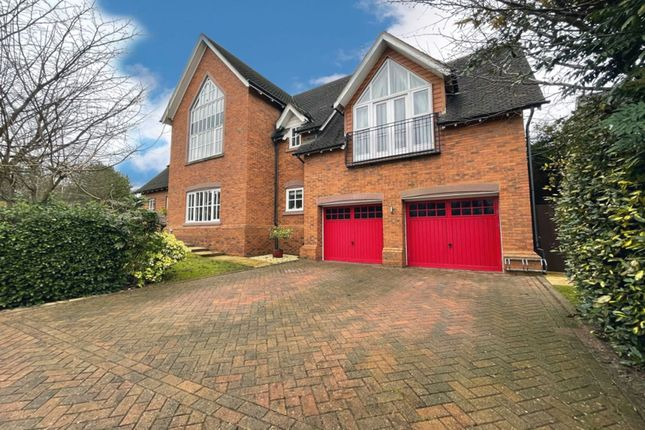 Thumbnail Detached house for sale in Richmond Close, Weston, Crewe