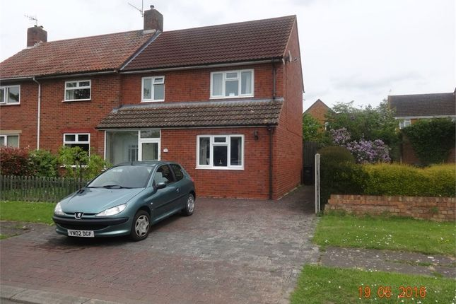 Thumbnail Semi-detached house to rent in Regiment Close, Worcester