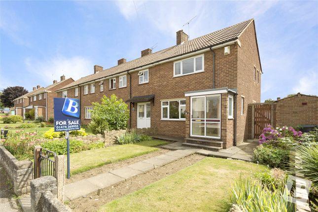 Thumbnail Semi-detached house for sale in Rembrandt Drive, Northfleet, Gravesend, Kent