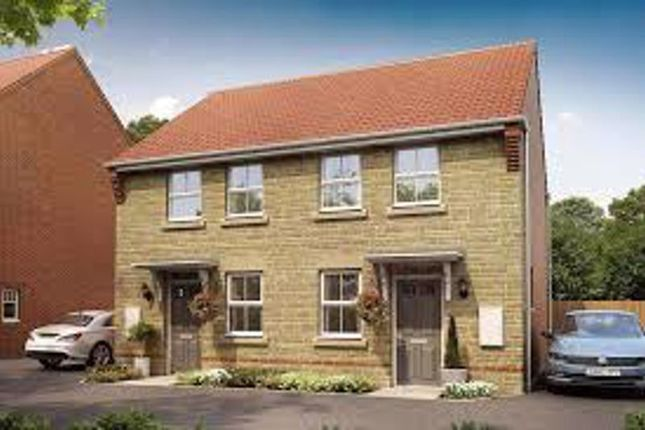 Thumbnail Semi-detached house for sale in Weston Meadow, Calne, The Wilford