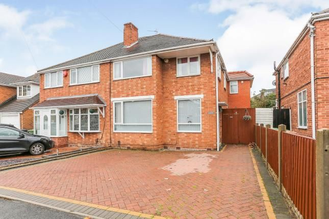 Thumbnail Semi-detached house for sale in Ventnor Road, Solihull, West Midlands