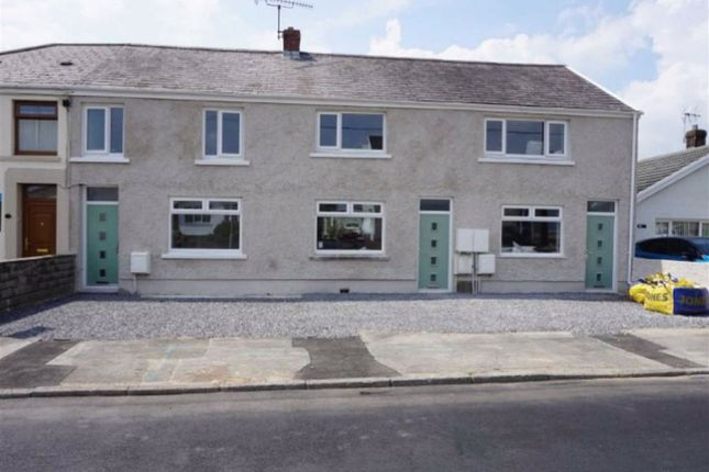 Thumbnail Terraced house for sale in Glynhir Road, Pontarddulais, Swansea