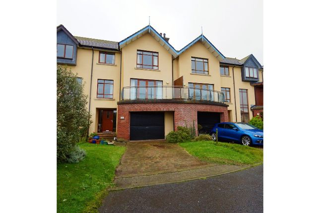 Thumbnail Town house for sale in Cove Avenue, Bangor