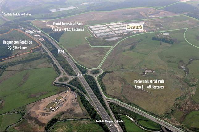 Thumbnail Industrial to let in Happendon Roadside, J11-M74, Happendon, South Lanarkshire