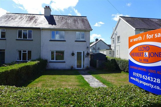 Thumbnail Semi-detached house for sale in Maesmagwr, Aberystwyth, Ceredigion